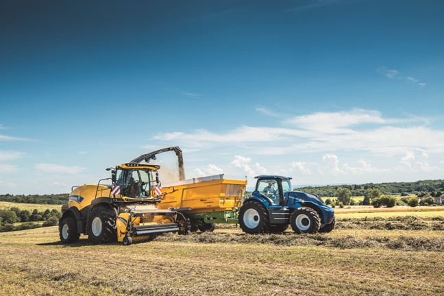 tractores metano