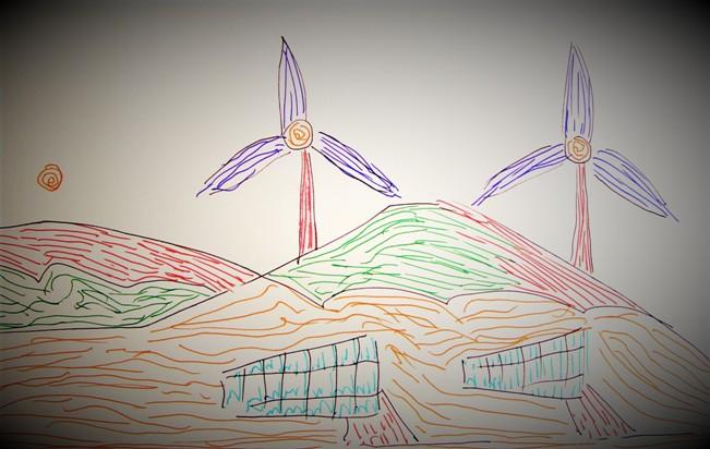 paneles eolica