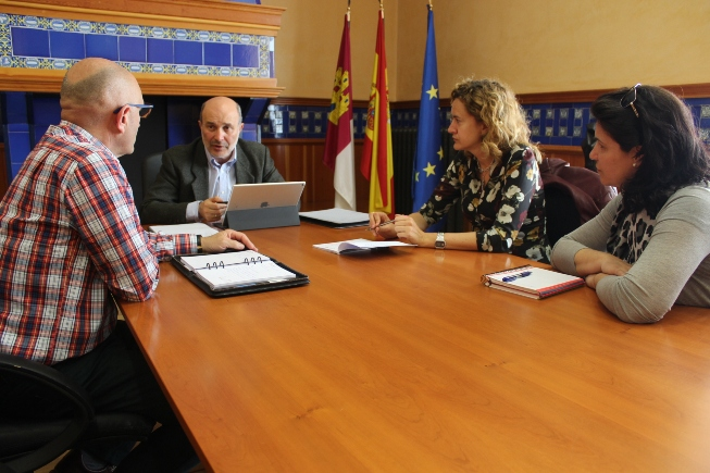 Un momento de la reunión en la Delegación de la Junta de Ciudad Real