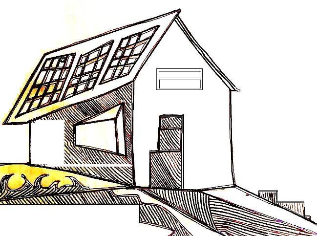 chalet placas solar