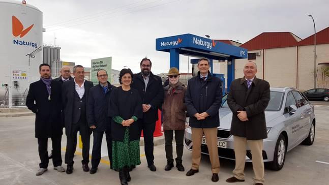 NATURGY_Inauguración estación carga gas CR